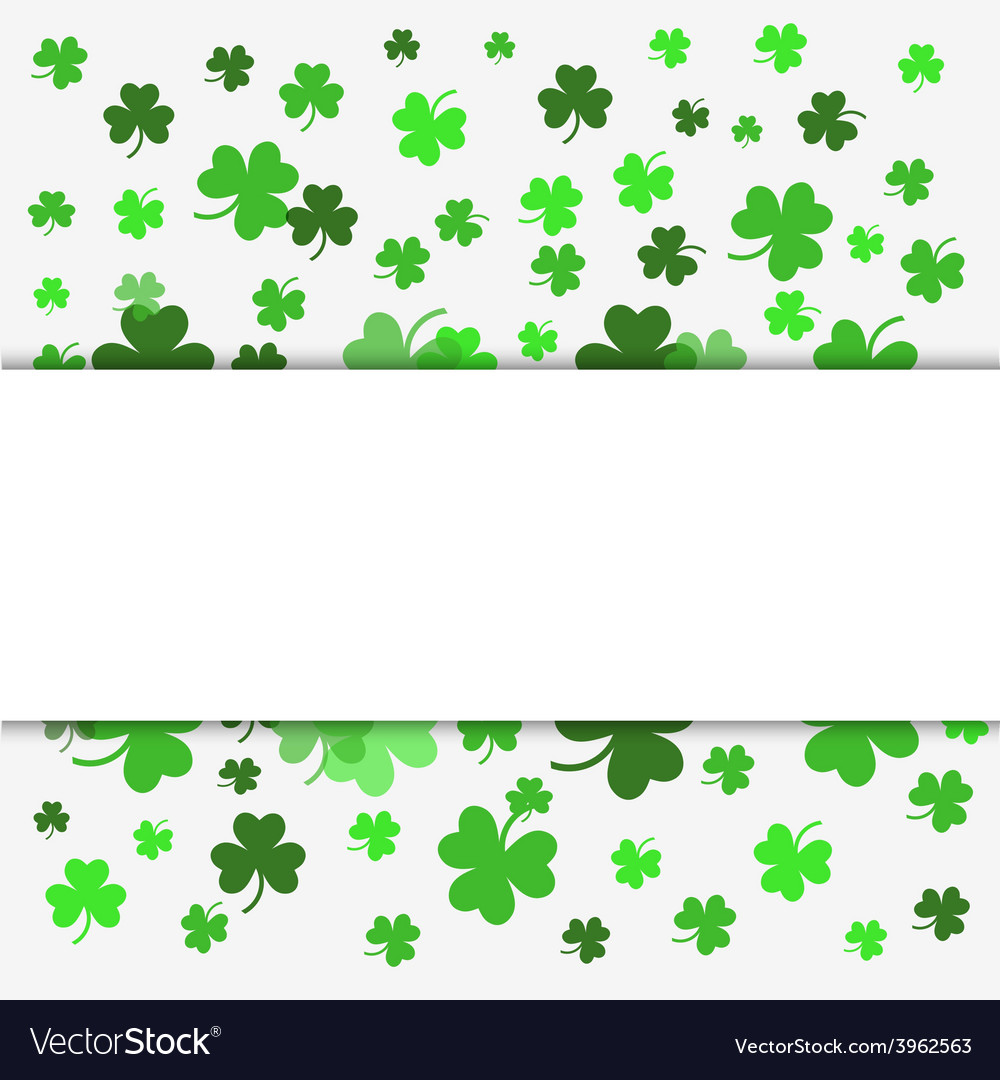 Patrick day party vector image