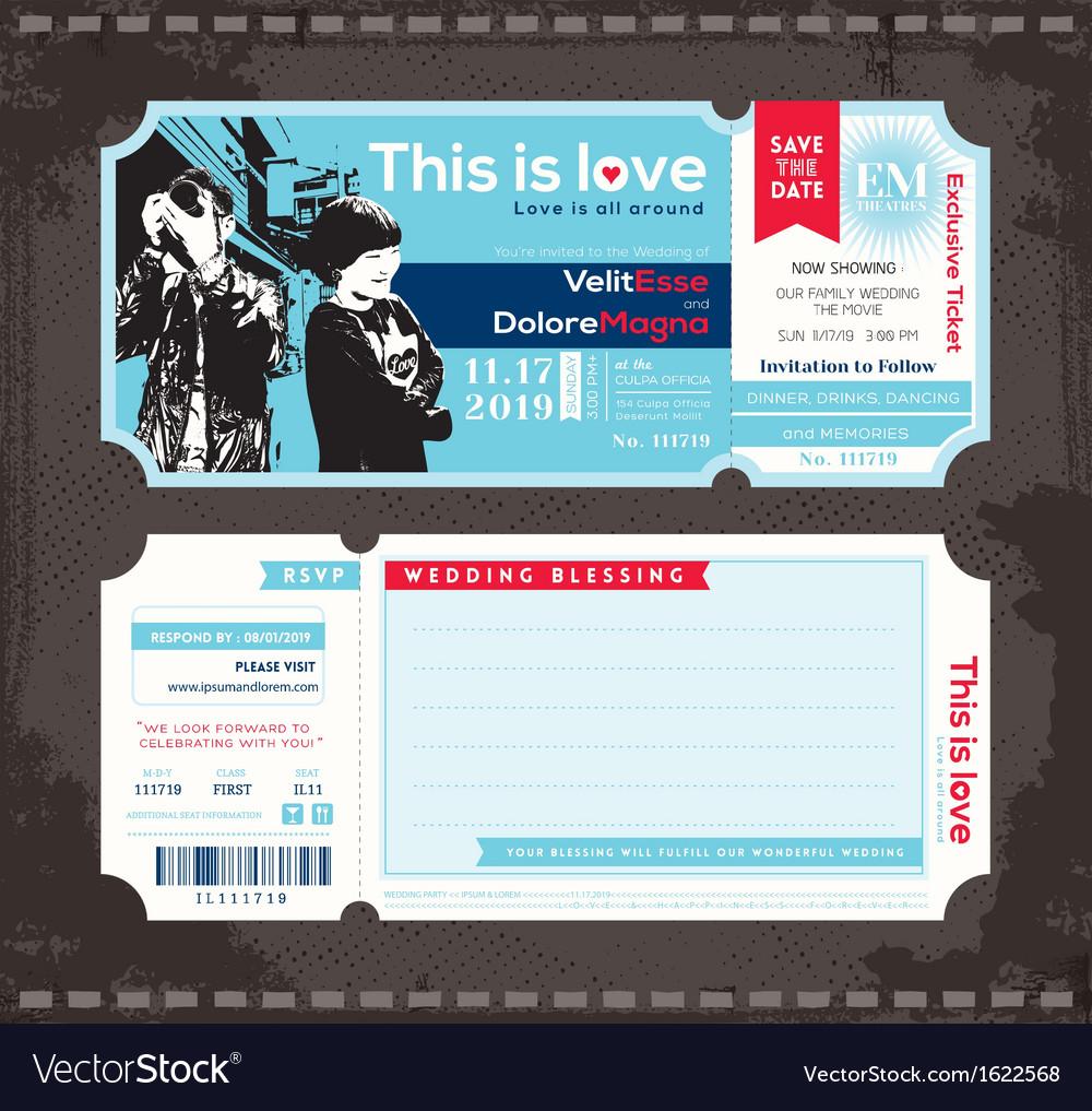 design tickets template – Design Tickets Template