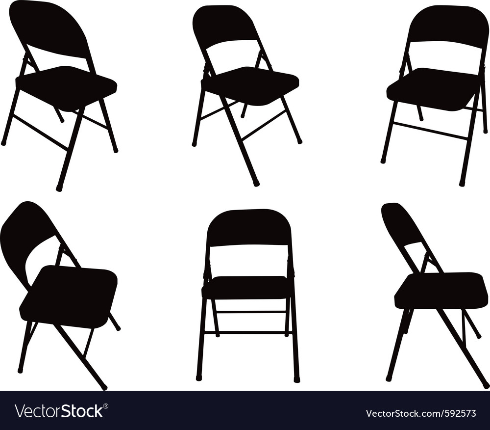 back of beach chair silhouette. Chair Silhouette Vector Image Back Of Beach I