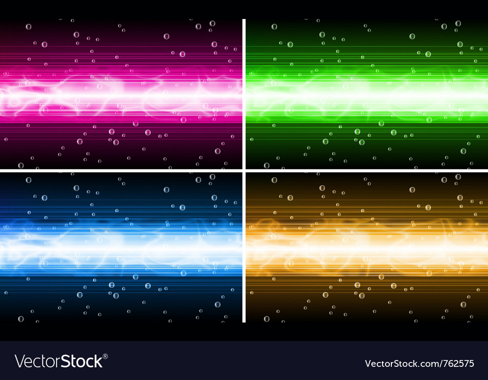 Background set vector image