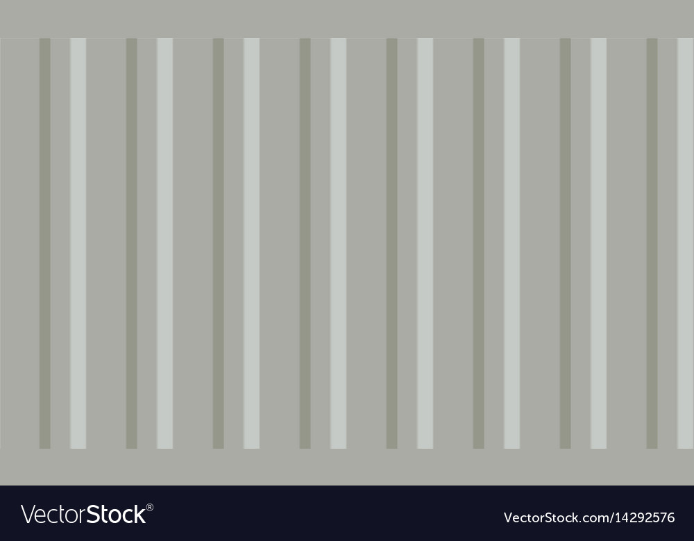 Empty corrugated sheet background vector image