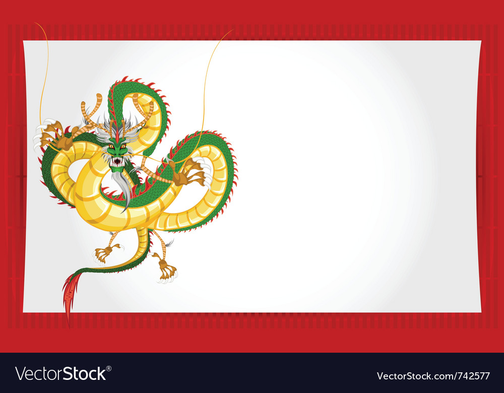 chinese new year 2012 vector image - Chinese New Year 2012