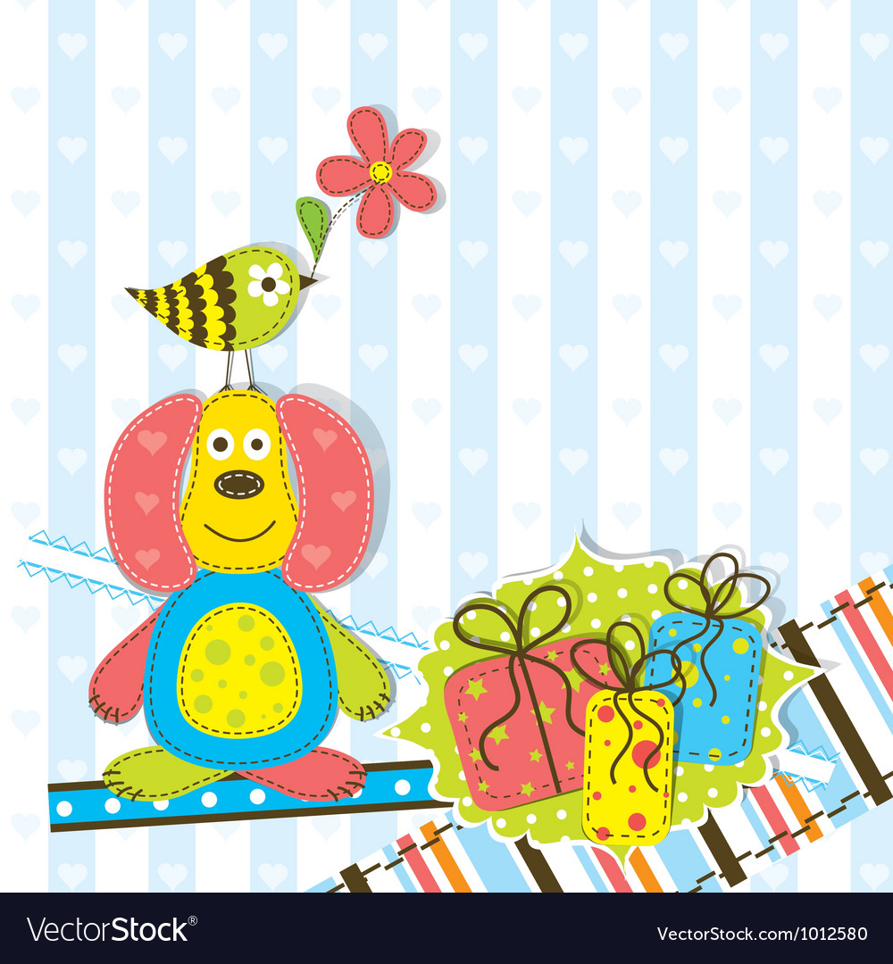 Children scrapbook birthday card royalty free vector image children scrapbook birthday card vector image bookmarktalkfo Choice Image