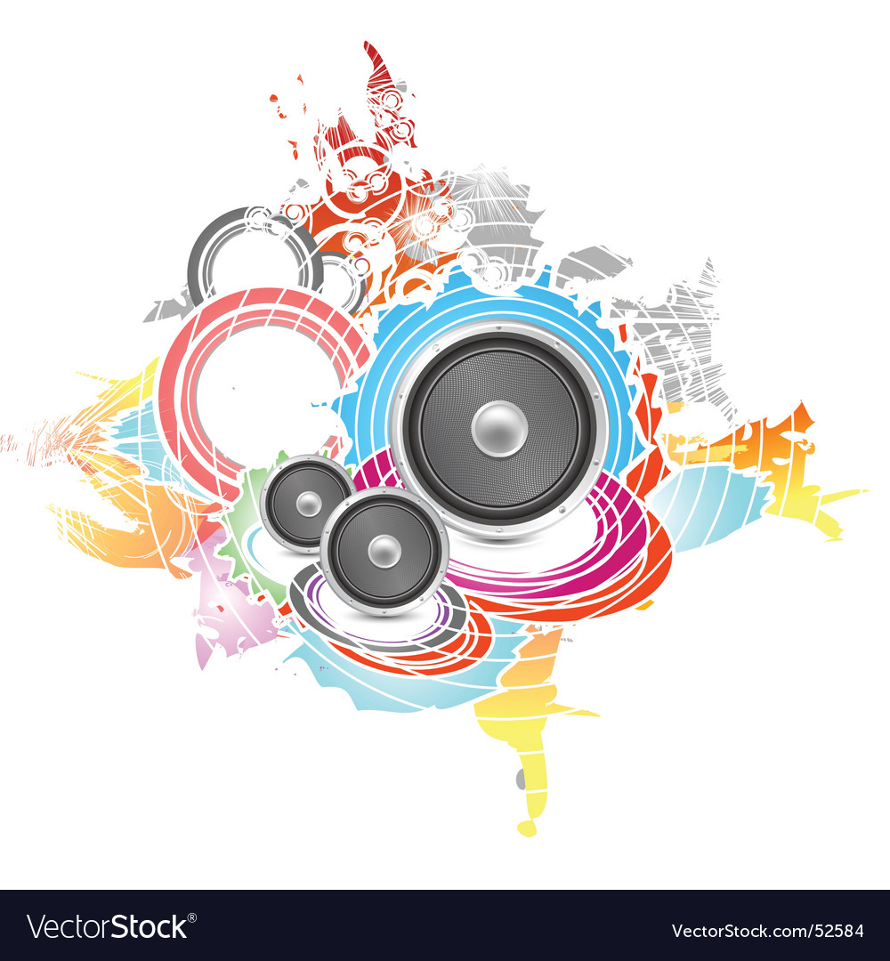 Colored vector image