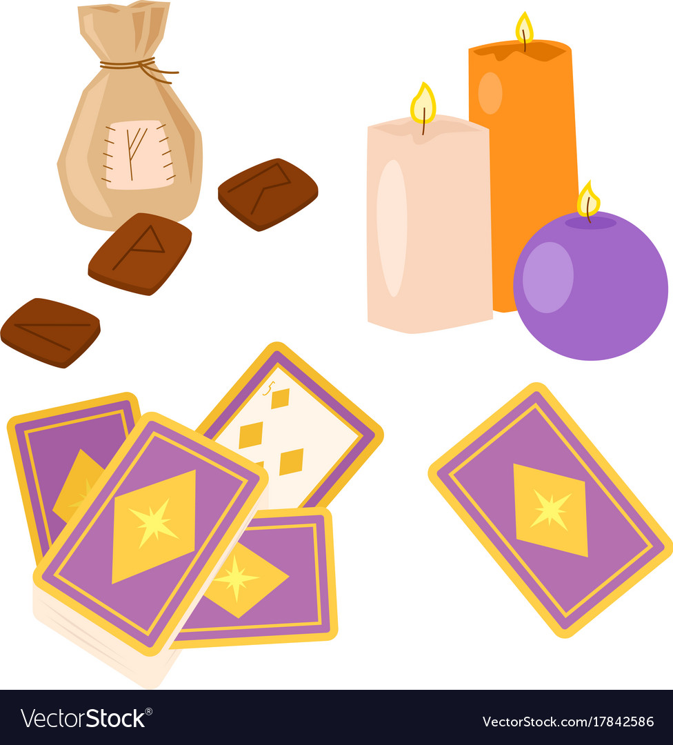 Special Magic Symbol Magician Fantasy Carnival Vector Image