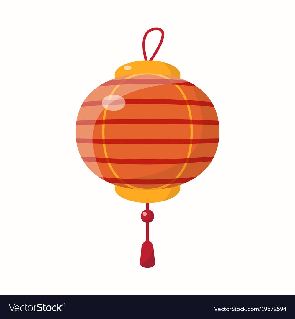 chinese new year lantern vector image - Chinese New Year Lantern