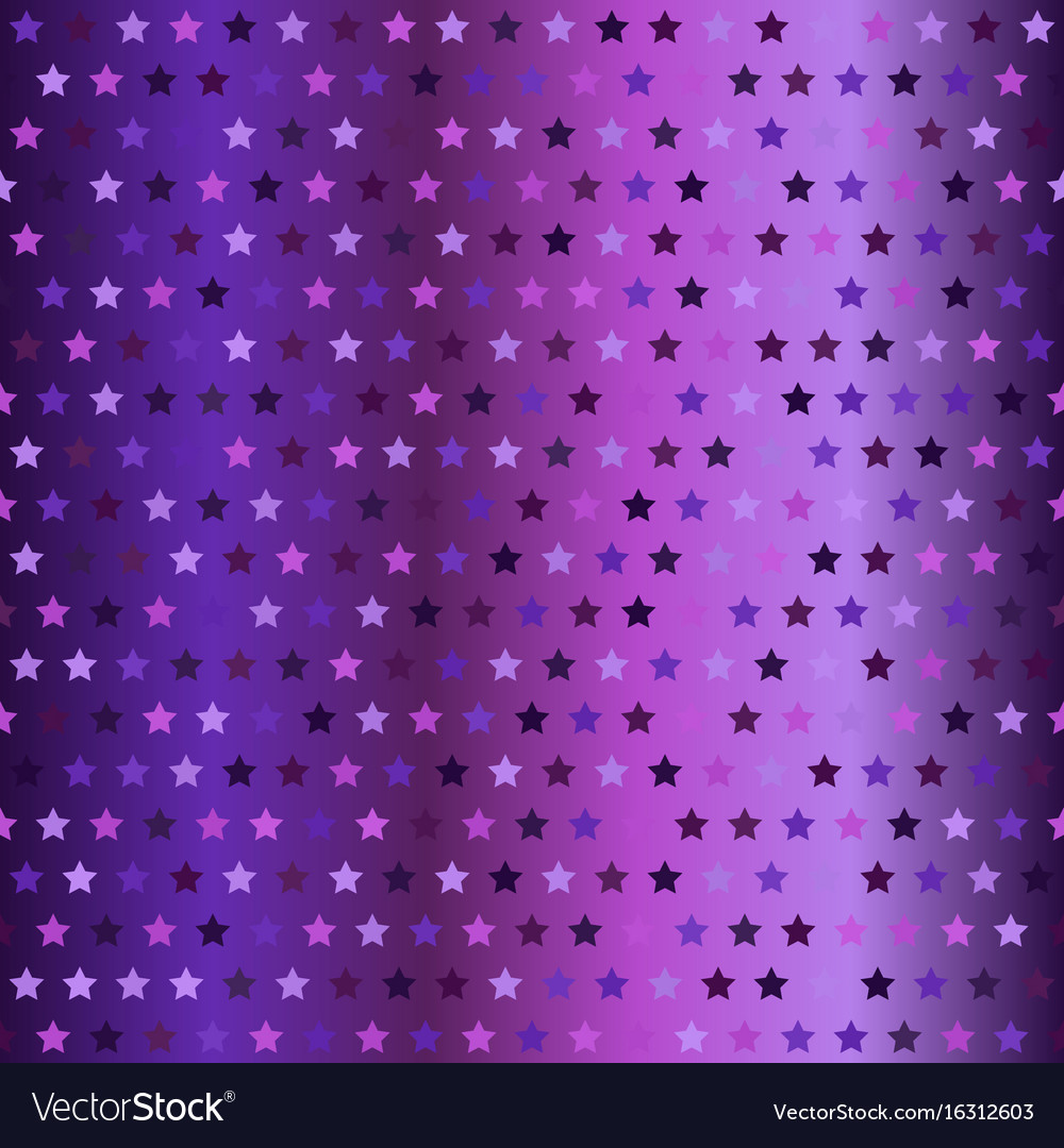 Glittering star pattern seamless gradient vector image