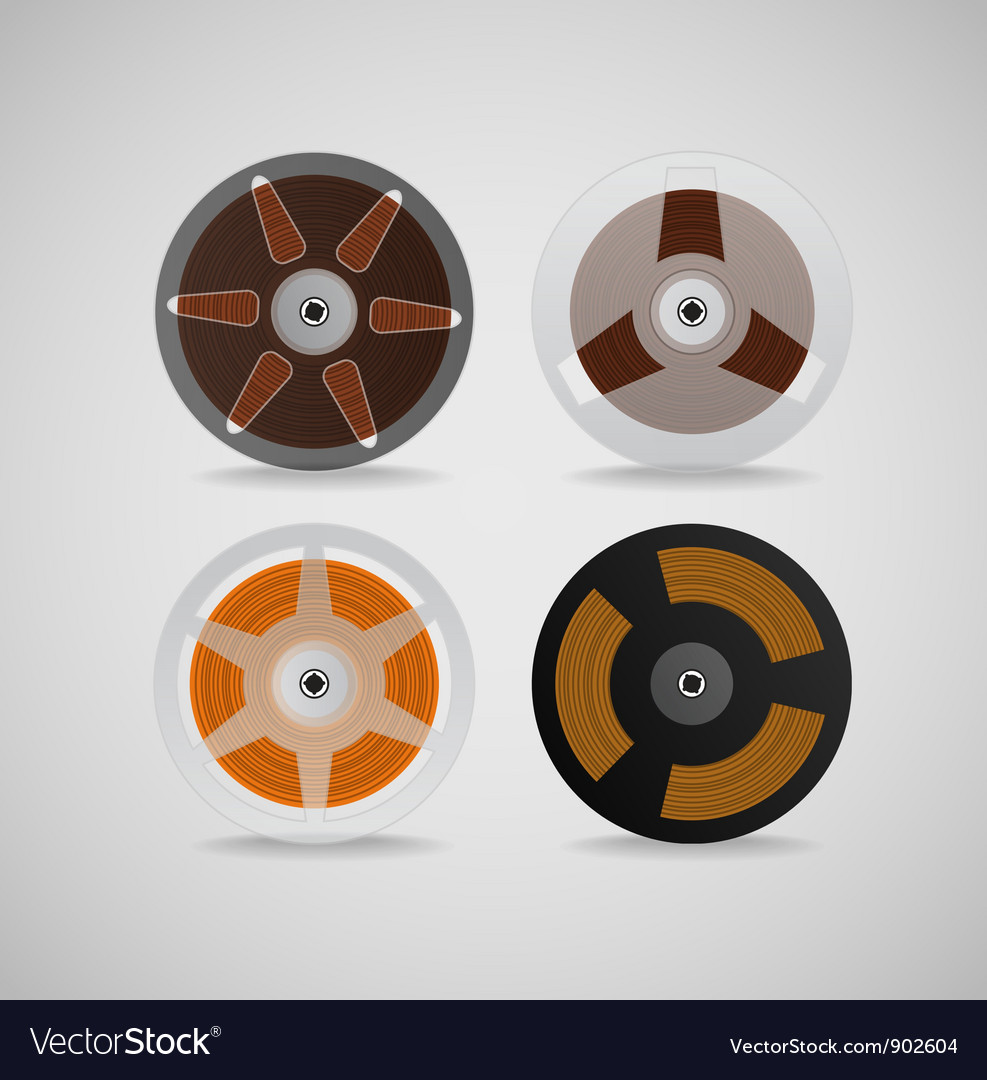 Audio babins vector image