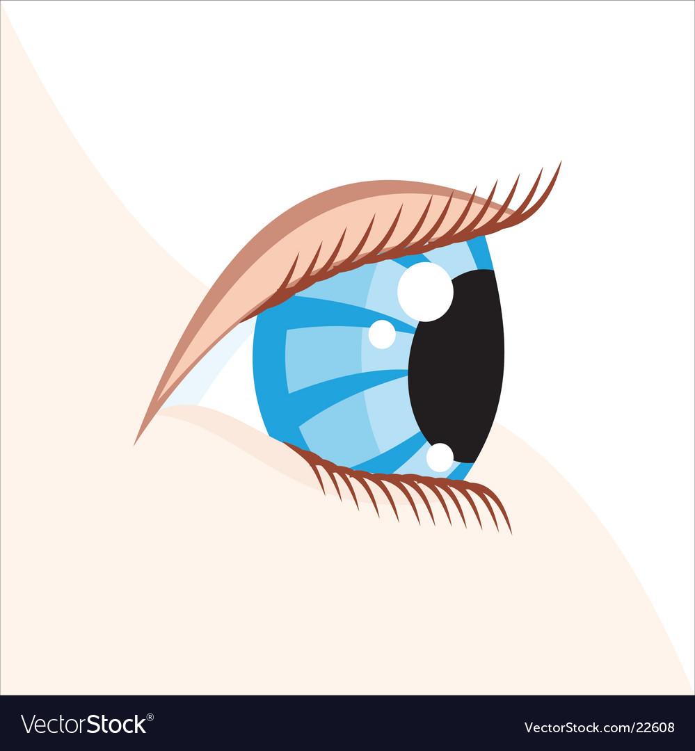 Beauty cartoon vector image