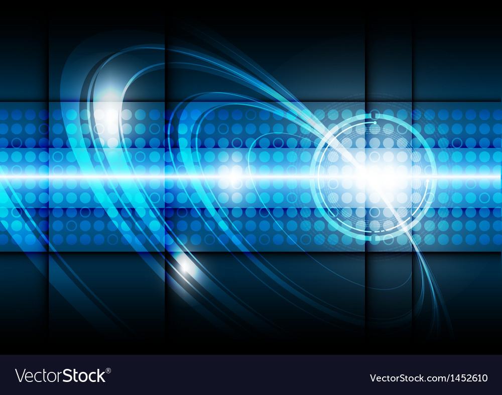 Digital technology background vector image