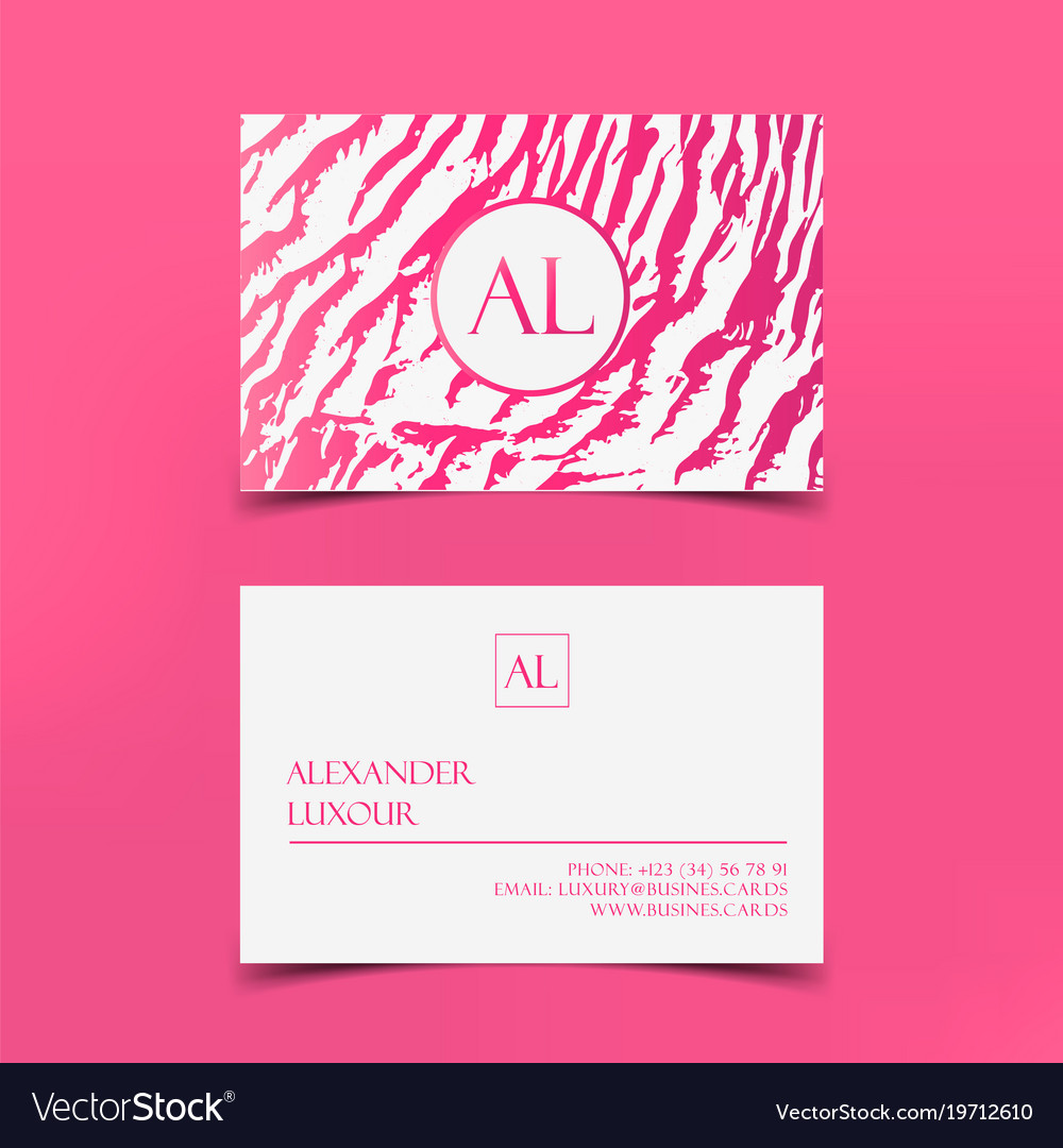 Fashion pattern business card template 02 vector free vector 4vector pink fashion business card template banner vector image fashion business card template cheaphphosting Images