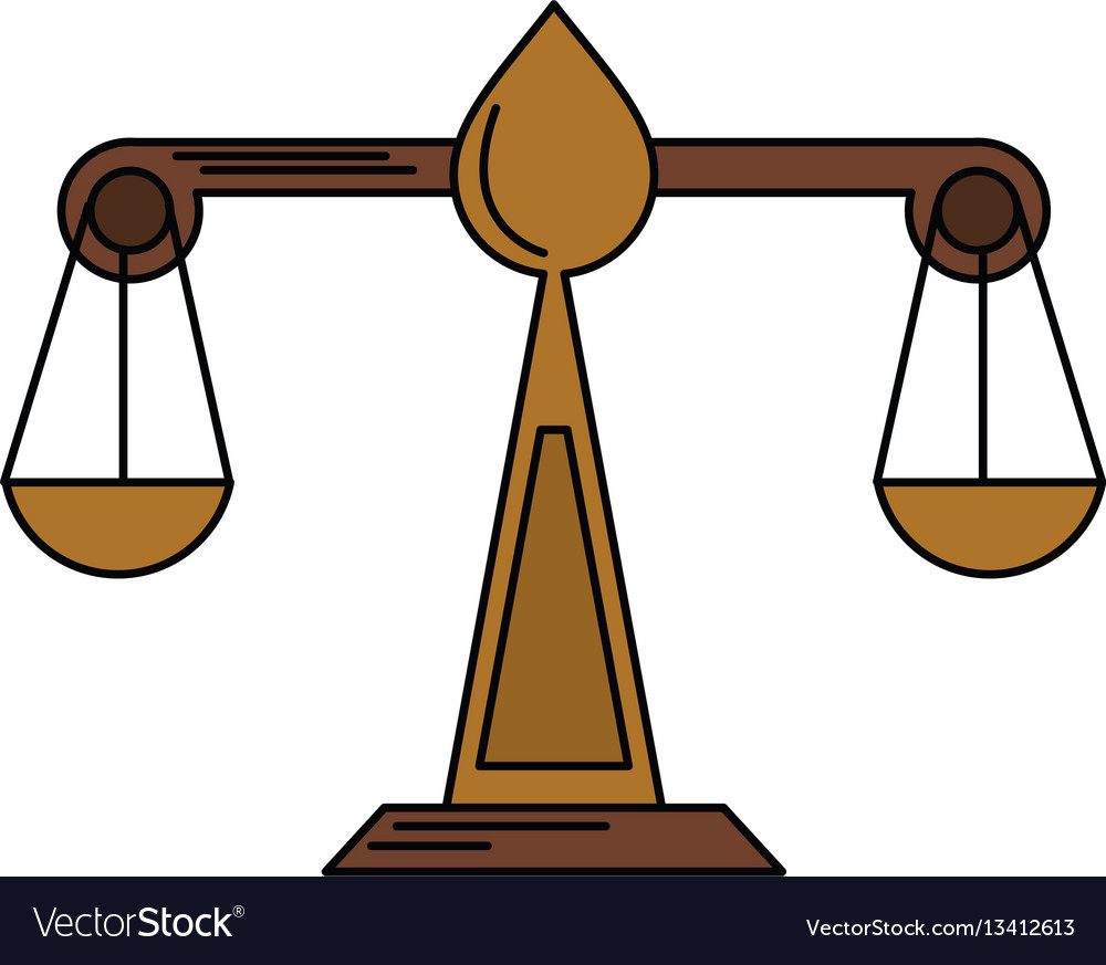 Justice scale law symbol royalty free vector image justice scale law symbol vector image biocorpaavc Choice Image