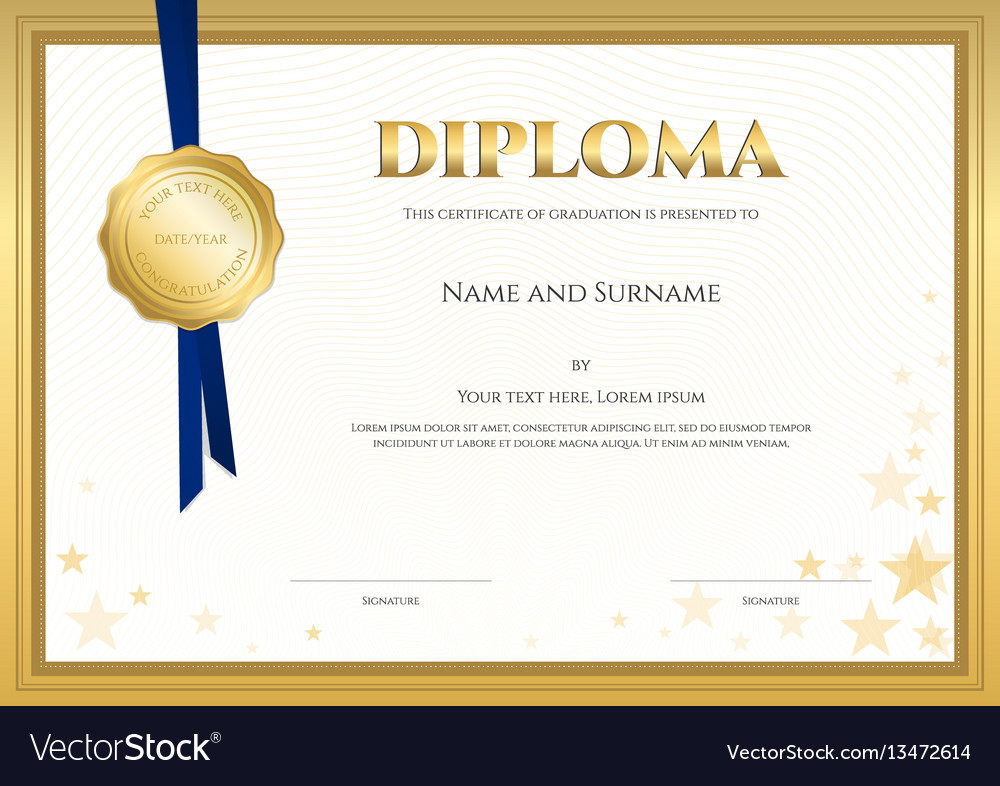 Certificate template elegant free test templates elegant diploma certificate template royalty free vector elegant diploma certificate template vector 13472614 elegant diploma certificate xflitez Image collections