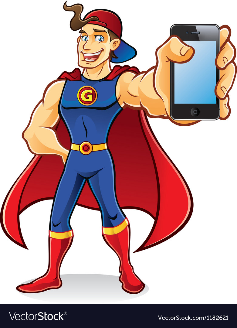 Superhero Gadget vector image