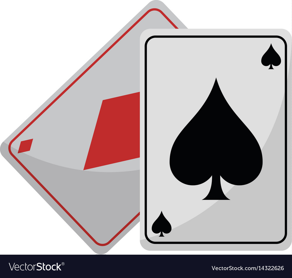 April fools day card ace vector image