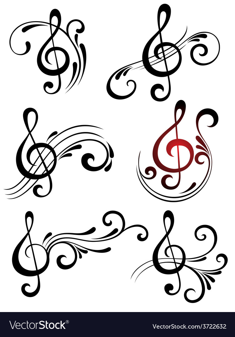 Music symbols royalty free vector image vectorstock music symbols vector image biocorpaavc Images