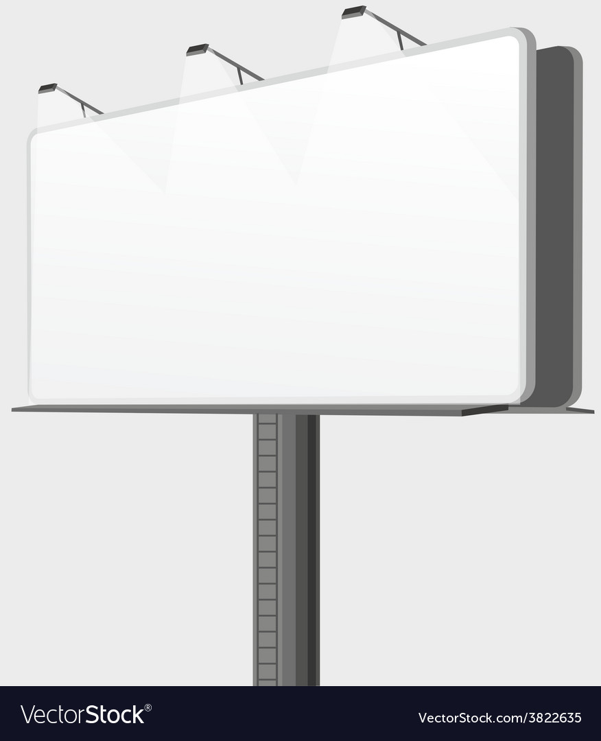 Bilboard vector image