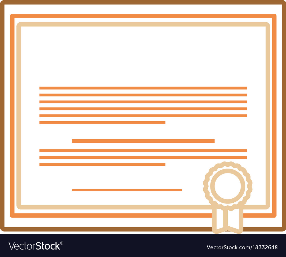 Certificate of graduation royalty free vector image certificate of graduation vector image xflitez Images
