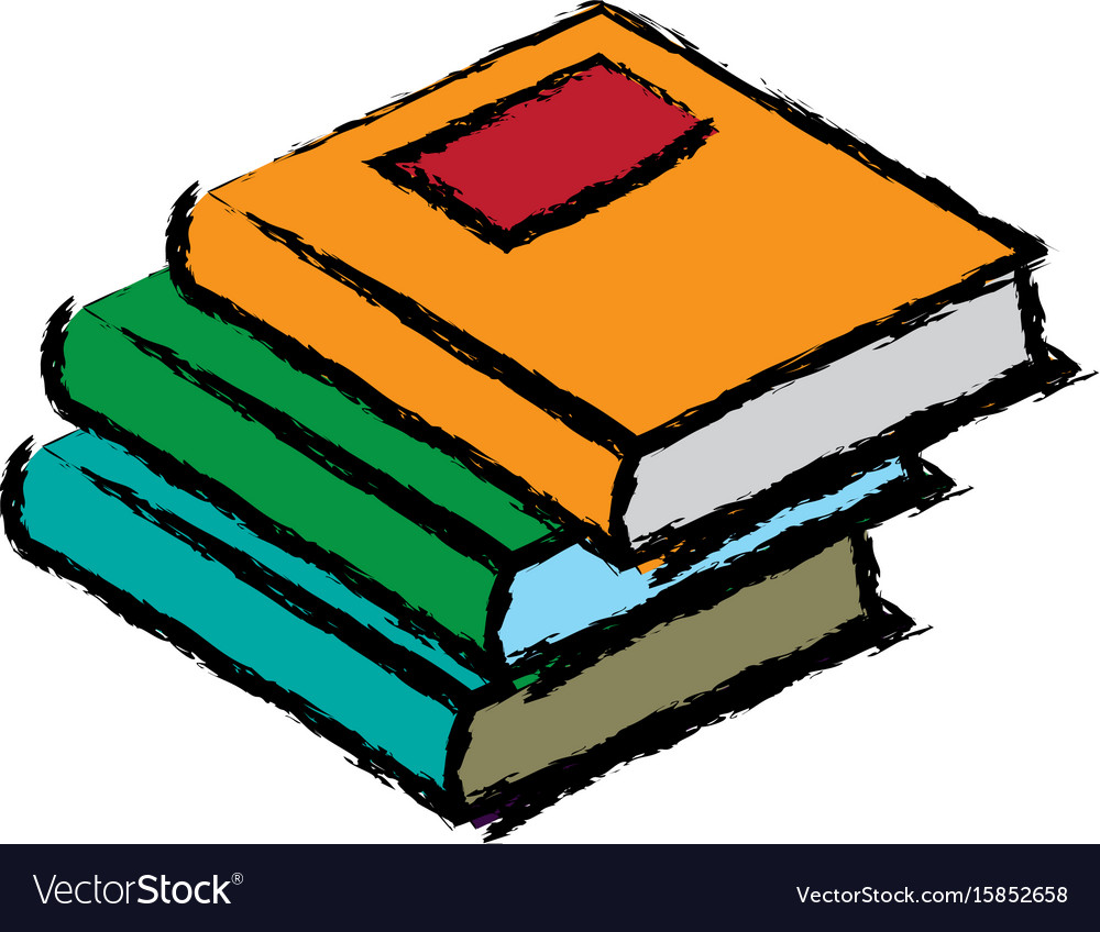 stack books literature study learn read image vector image rh vectorstock com vector book covers vector boots