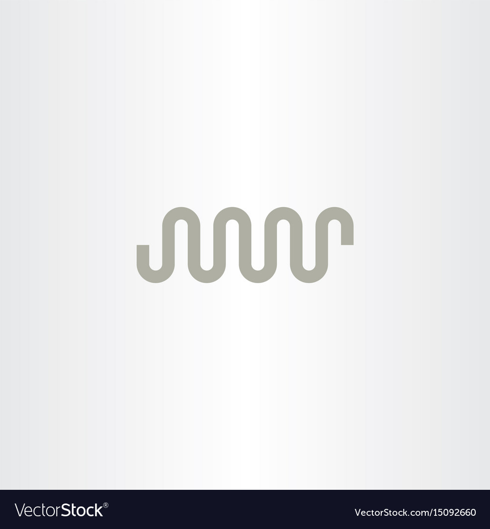Pipe logo symbol vector image