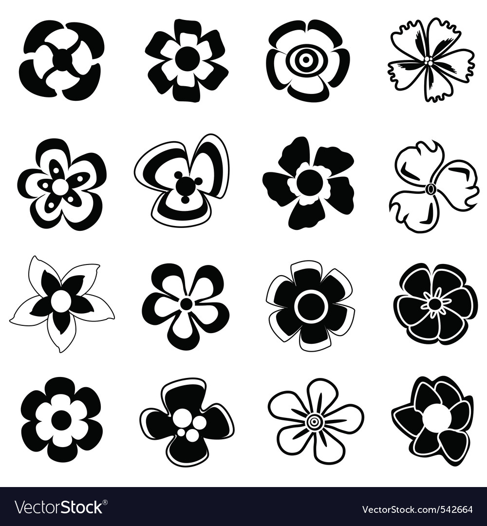 Flower icon royalty free vector image vectorstock flower icon vector image biocorpaavc Choice Image