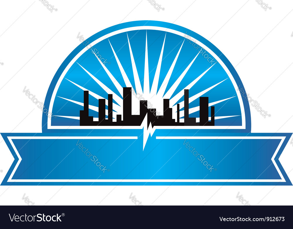City seal vector image