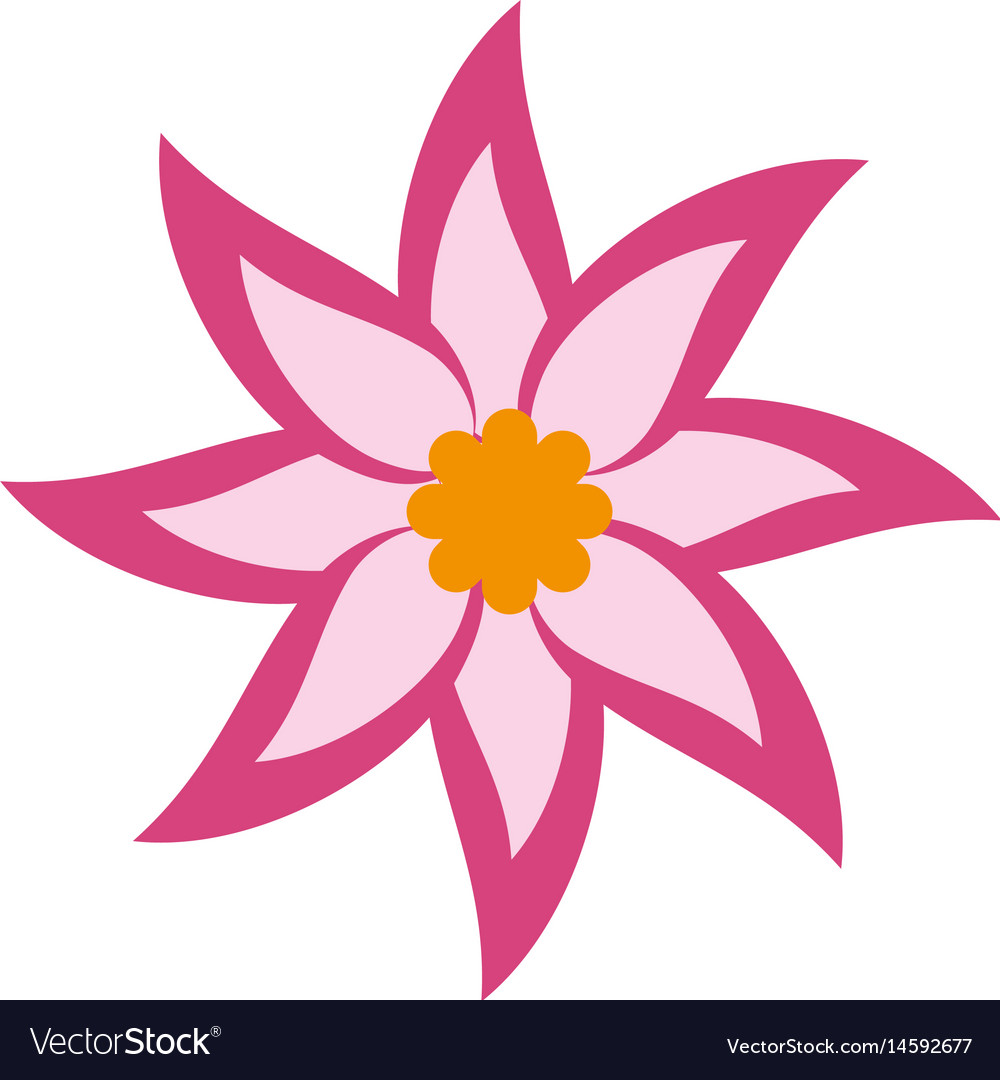 Pink flower icon royalty free vector image vectorstock pink flower icon vector image mightylinksfo Choice Image