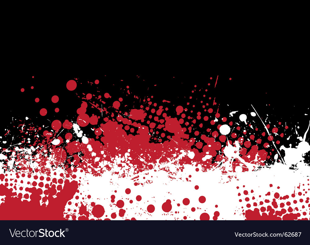 Blood tone vector image