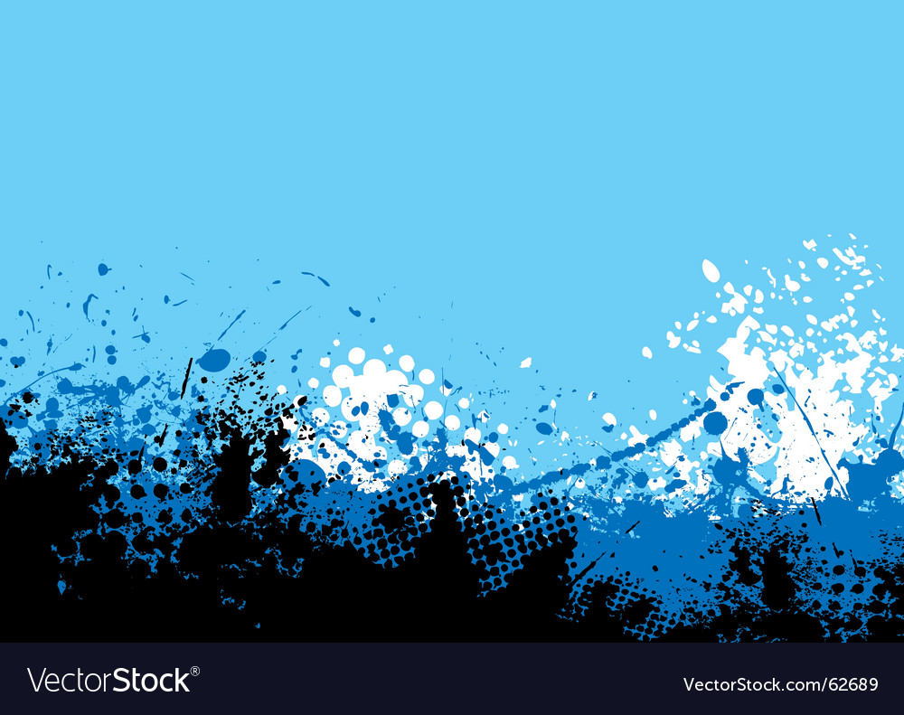 Cool tone vector image