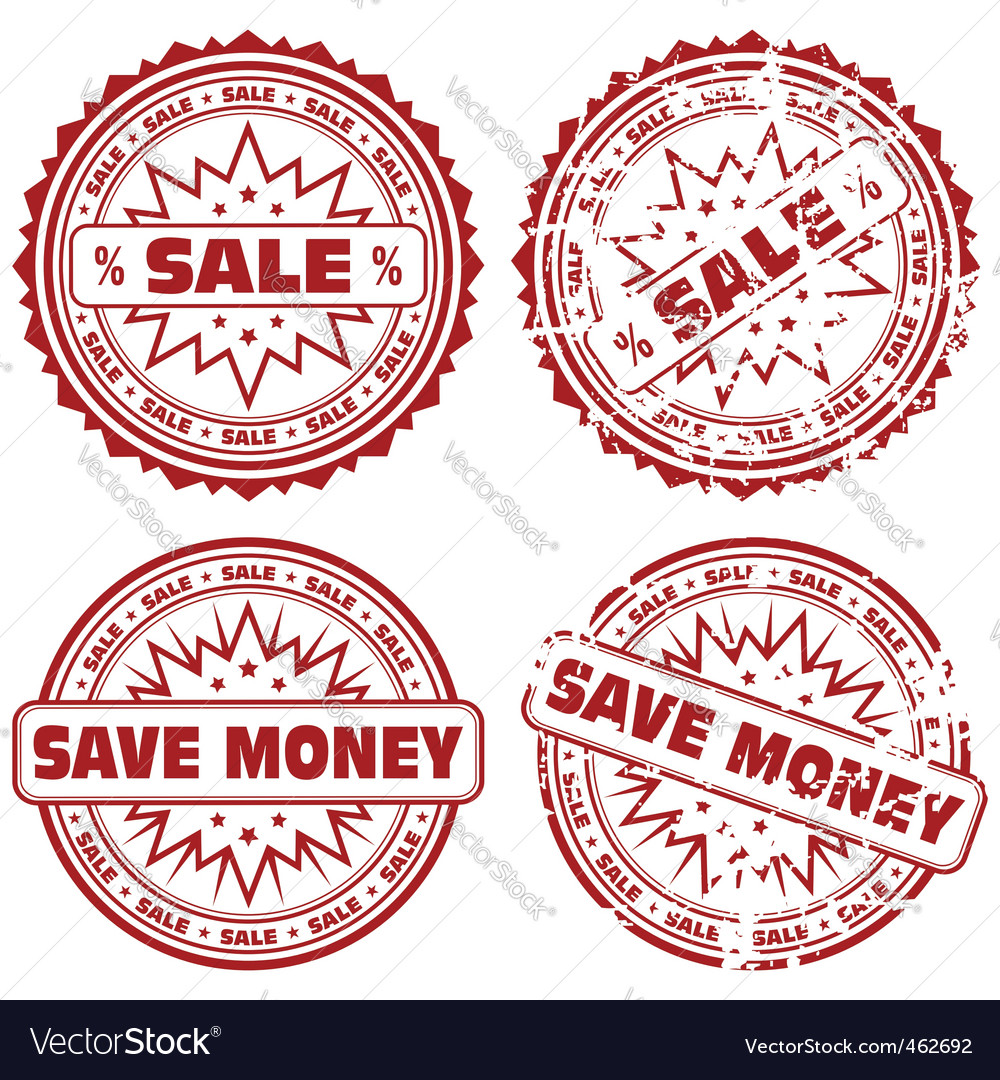 Collect stamps vector image