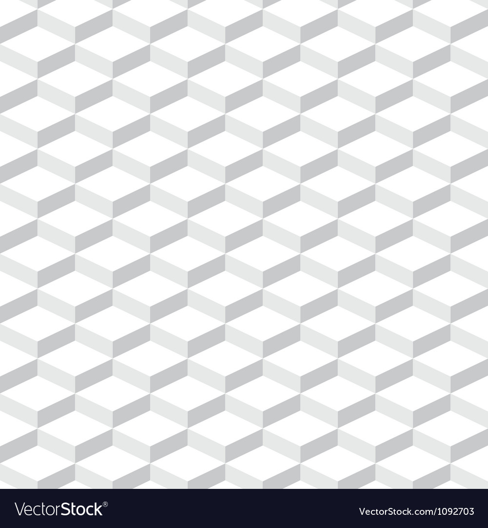 Cubes seamless pattern background Vector Image