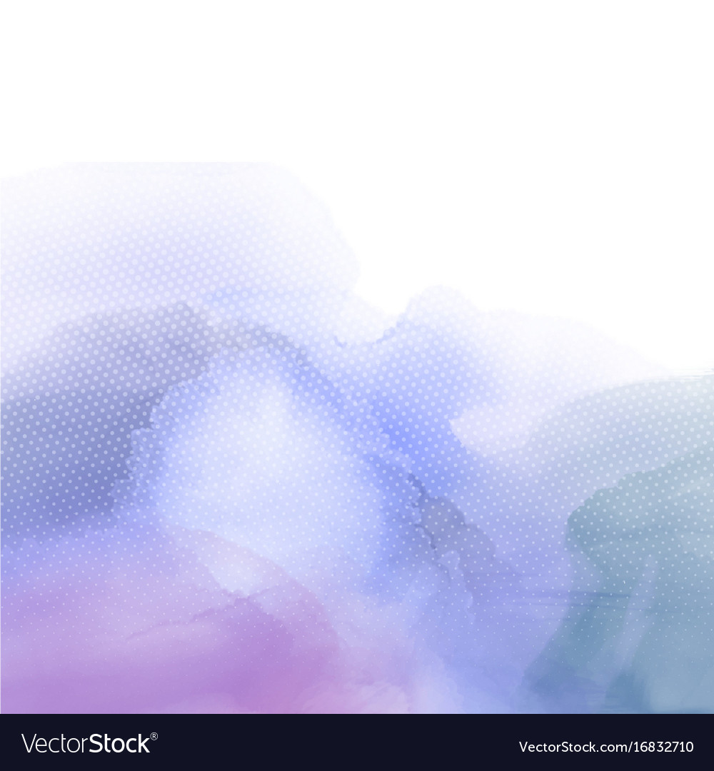 Abstract watercolour texture vector image