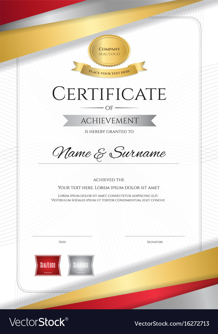 Portrait luxury certificate template with elegant vector image portrait luxury certificate template with elegant vector image yelopaper Image collections
