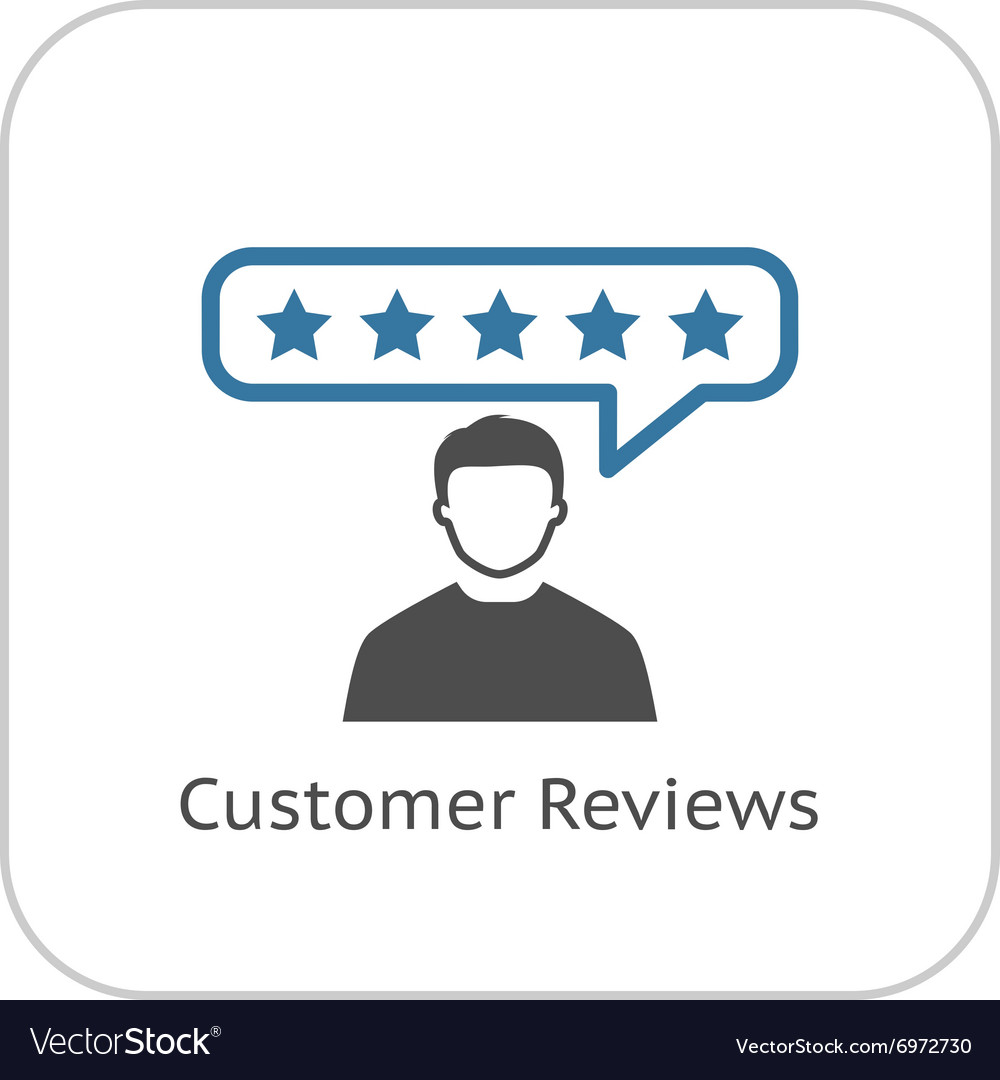 https://cdn.vectorstock.com/i/1000x1000/27/30/customer-reviews-icon-flat-design-vector-6972730.jpg