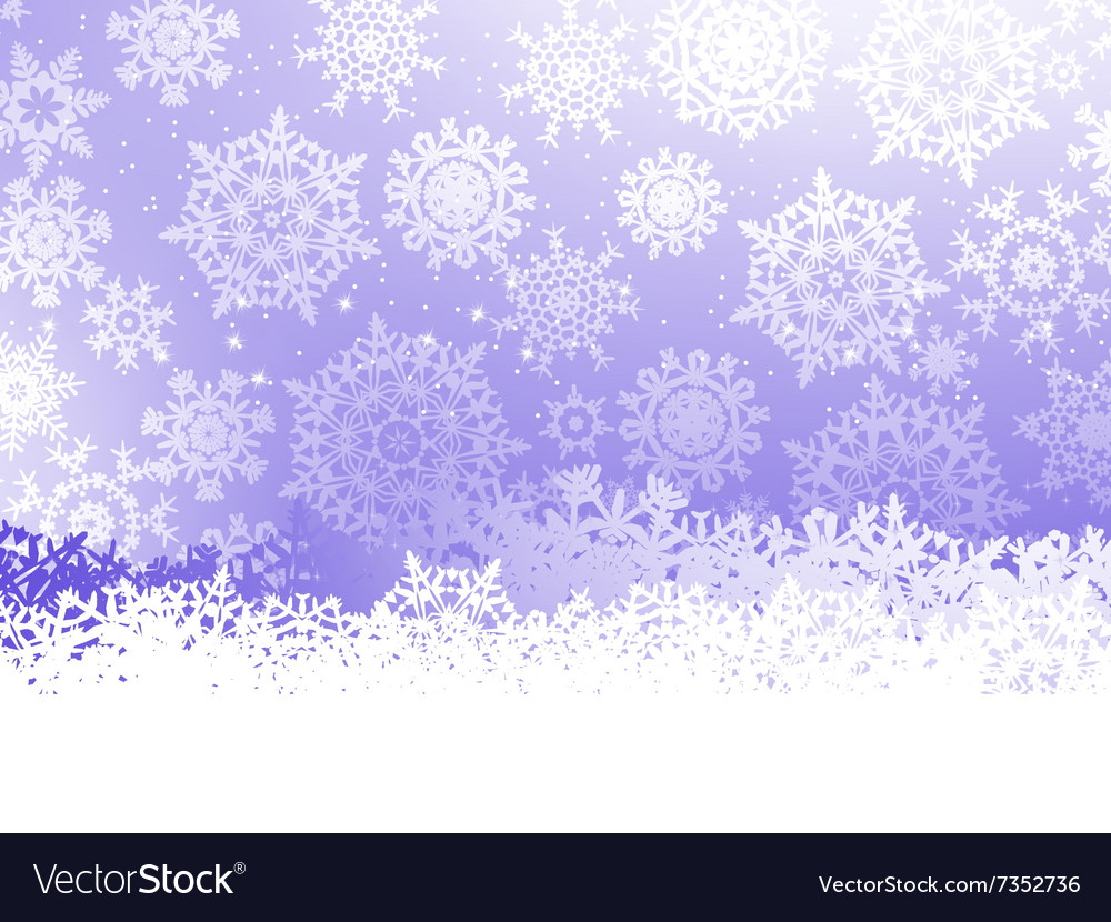 Merry Christmas Greeting Card EPS vector image