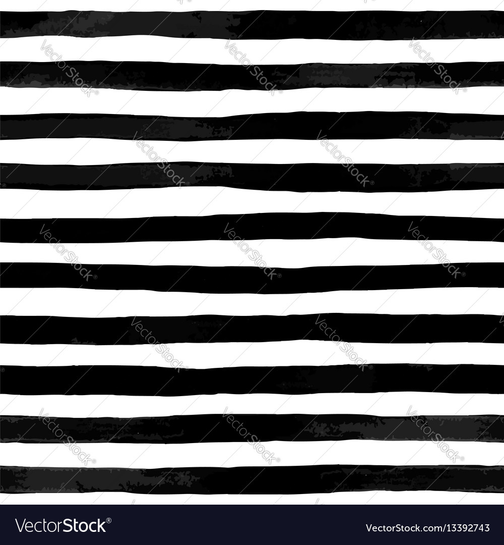 Beautiful seamless pattern with black and white vector image