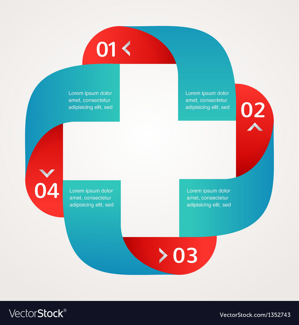 Medical and healthcare background infographic vector image