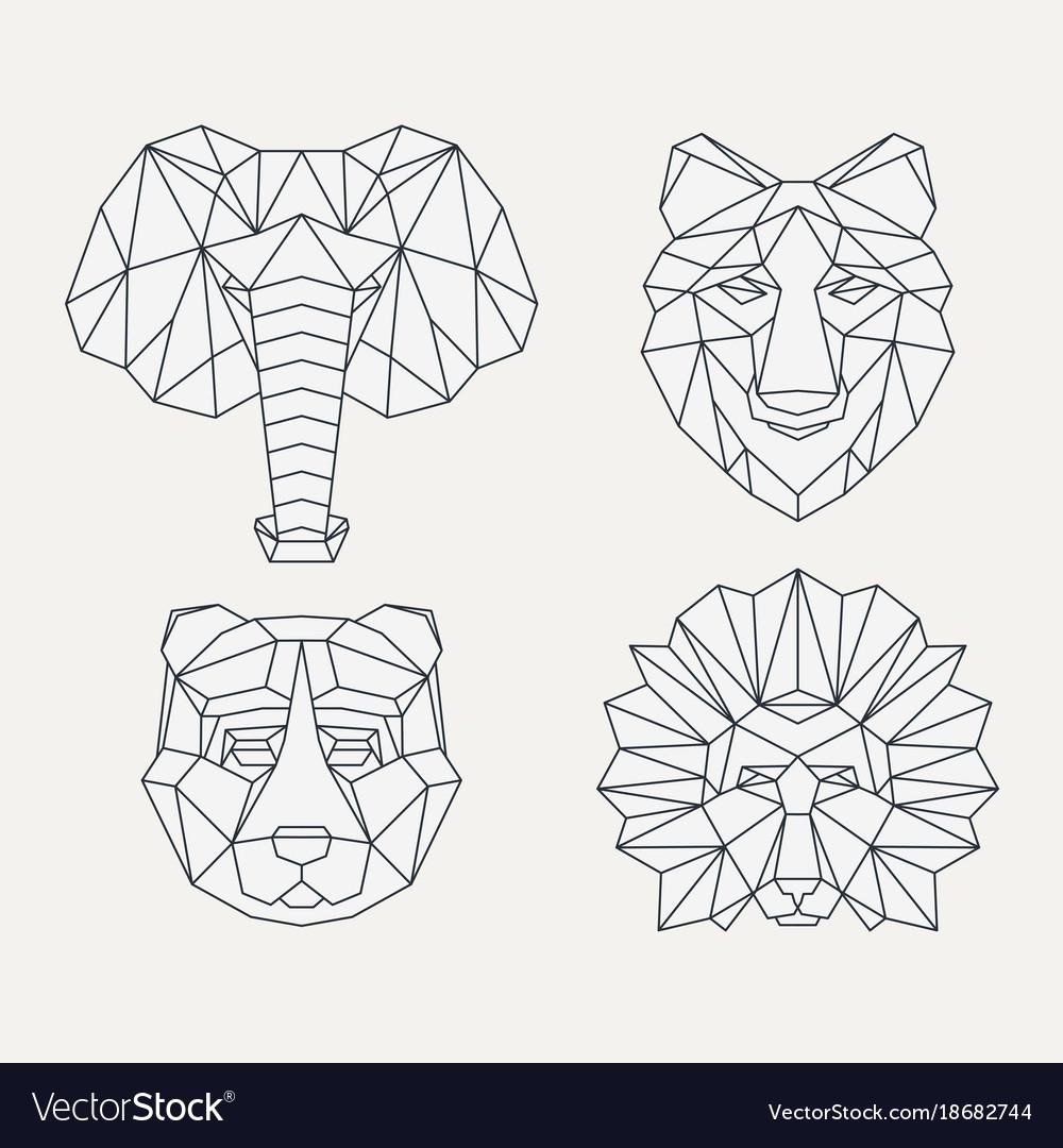 Head Patterns Design