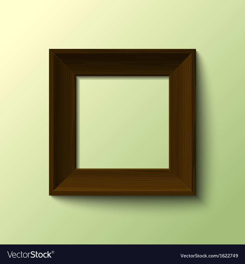 Frame for picture vector image