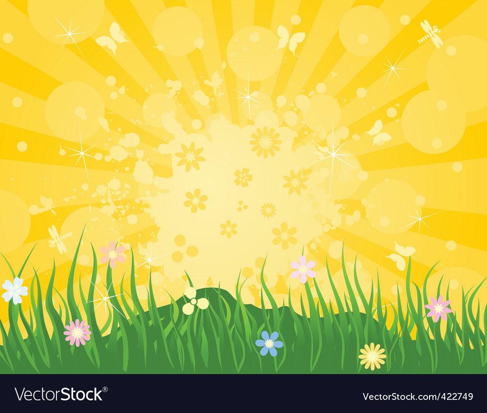Spring6 vector image