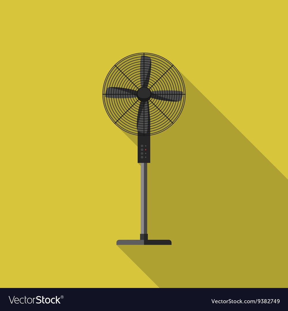 Ventilator flat icon vector image