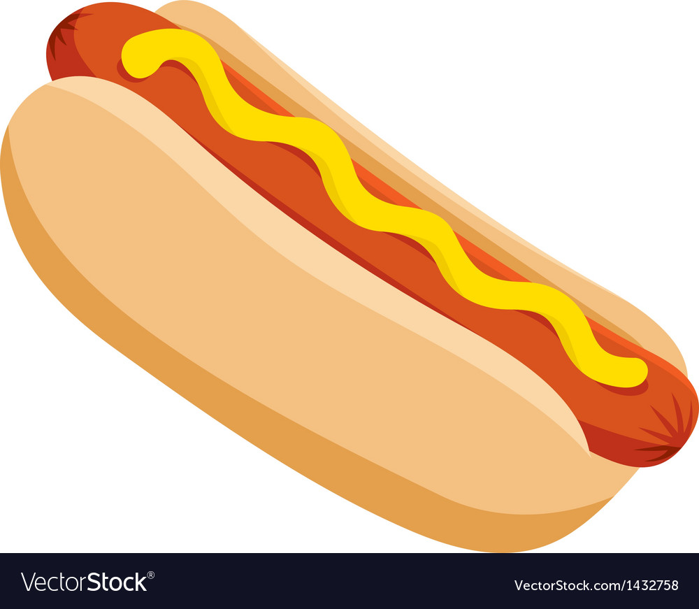 Hot Dog Graphic