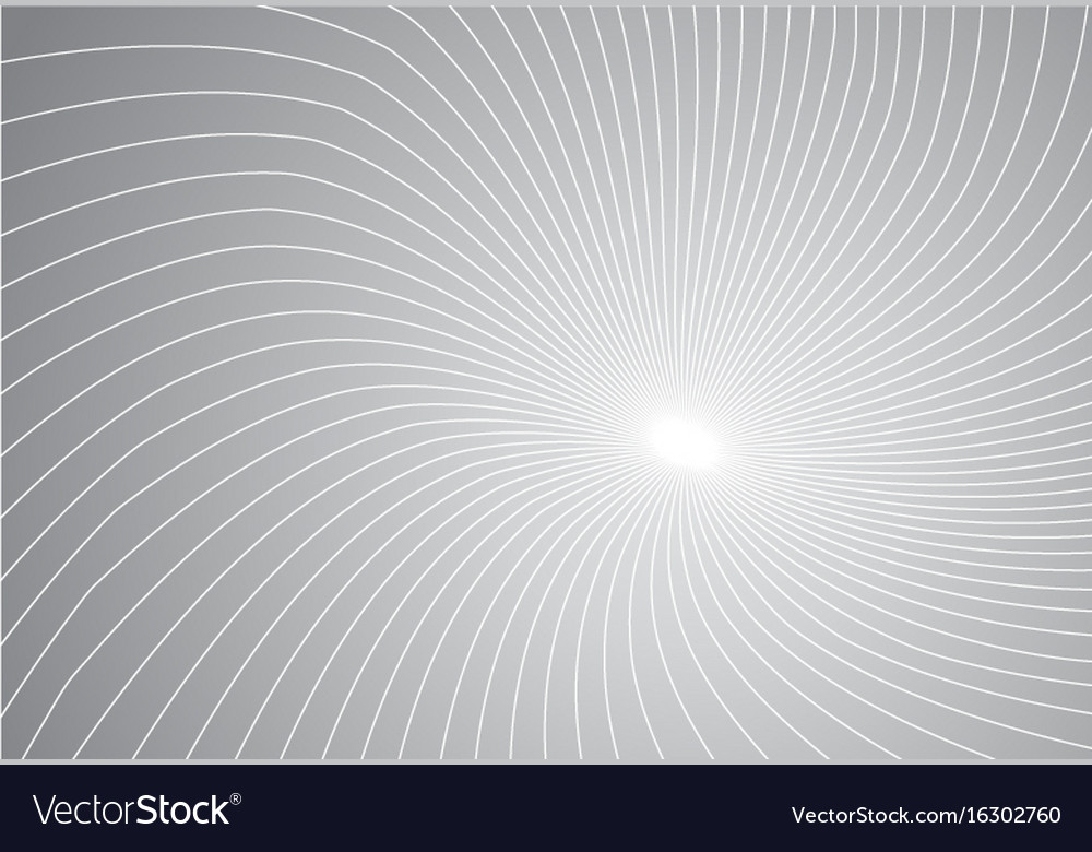 White lines perspective on grey pastels vector image