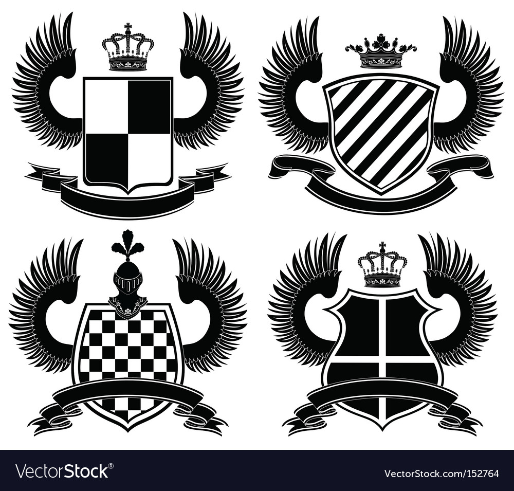 Heraldic vector image