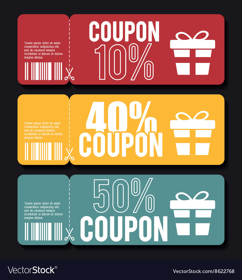 Coupons in design
