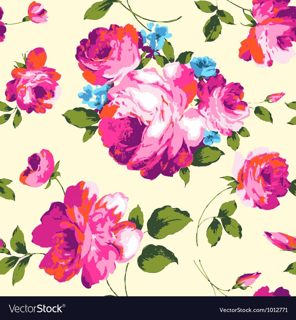 Designer roses vector image