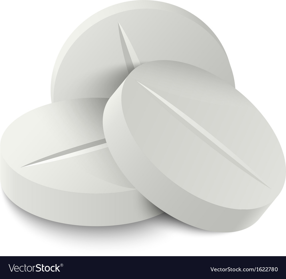 Pill medicine vector image