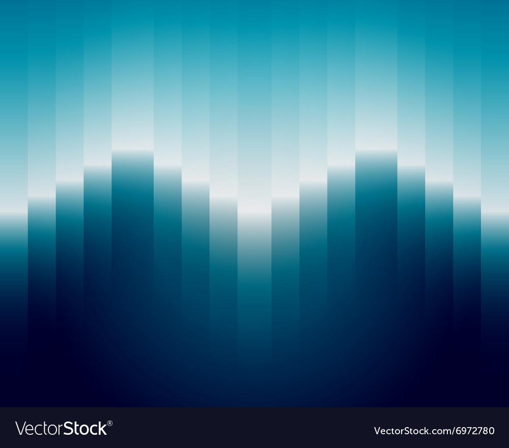Geometric blue bg vector image