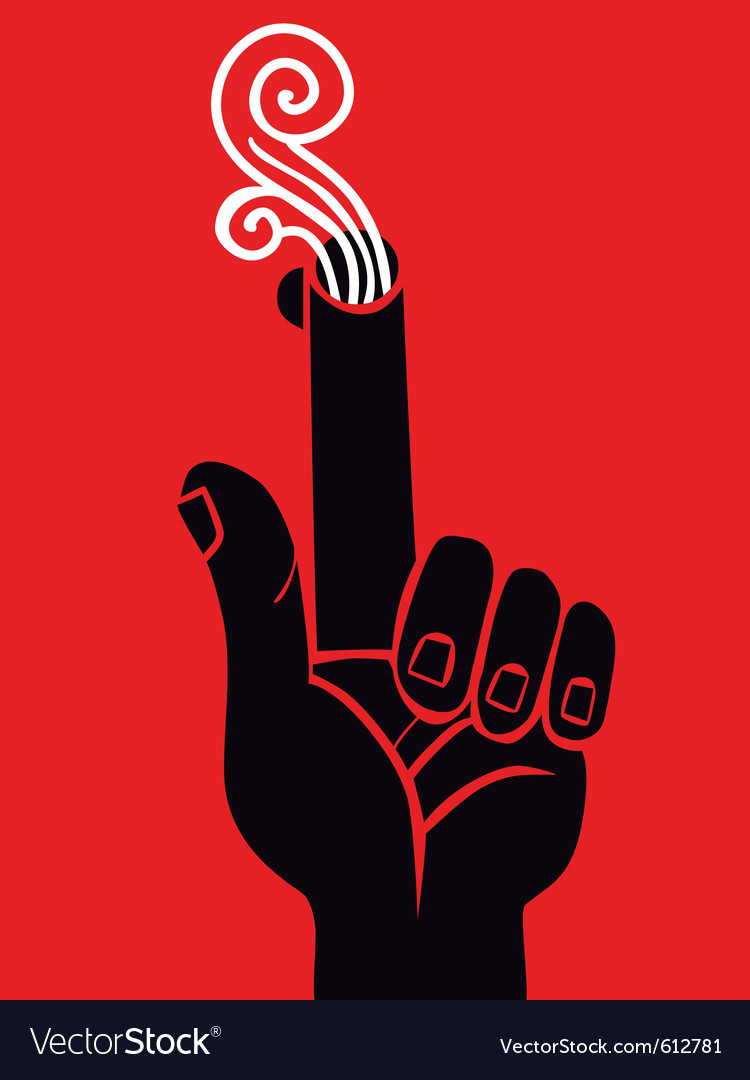 Hand pistol Vector Image