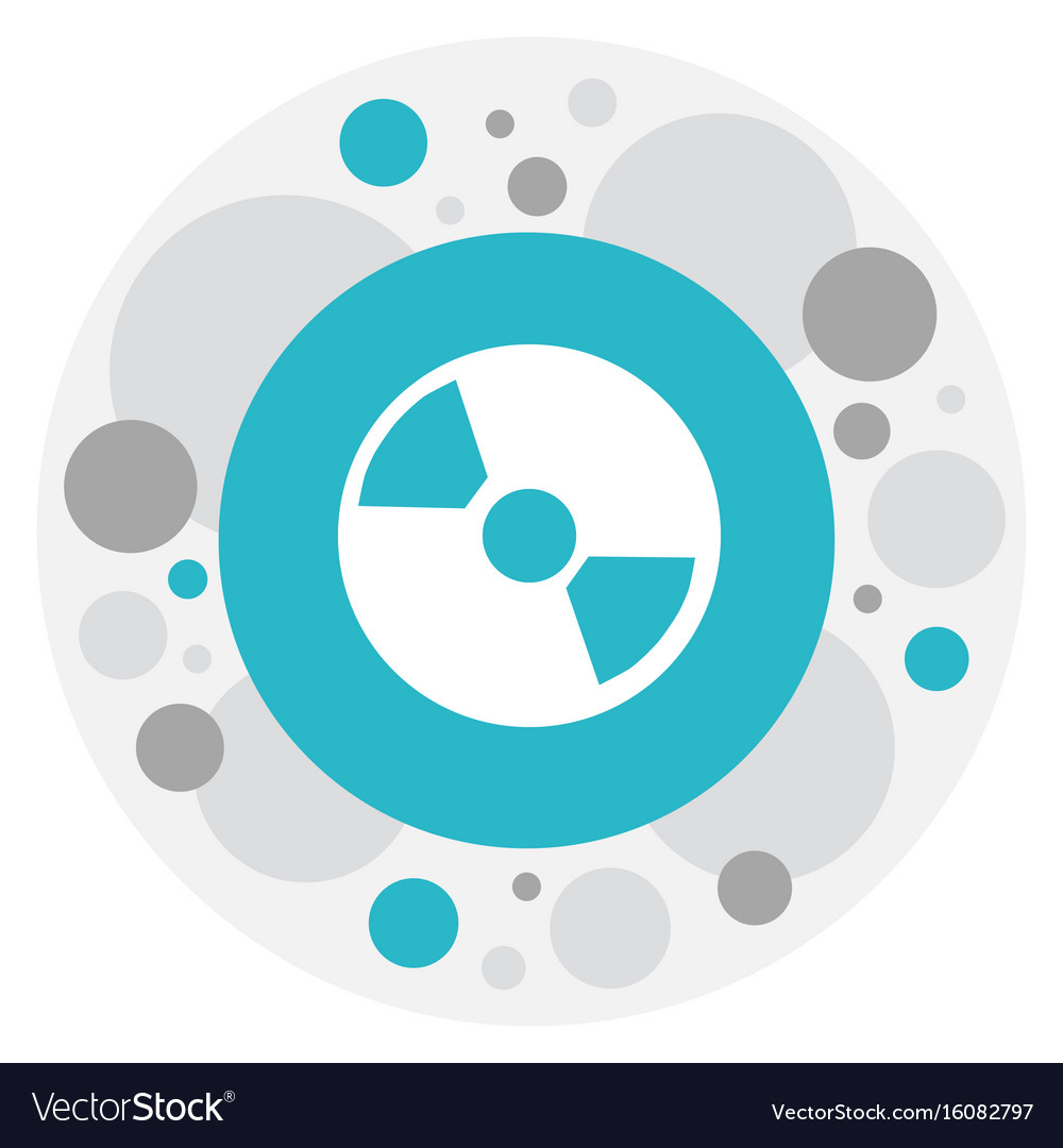Of mp3 symbol on cd icon vector image